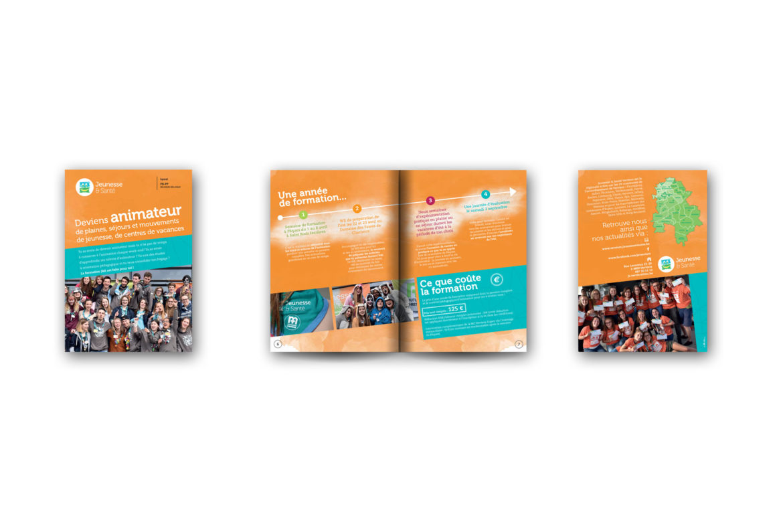 Brochure Jeunesse & Santé de Verviers : devenir animateur