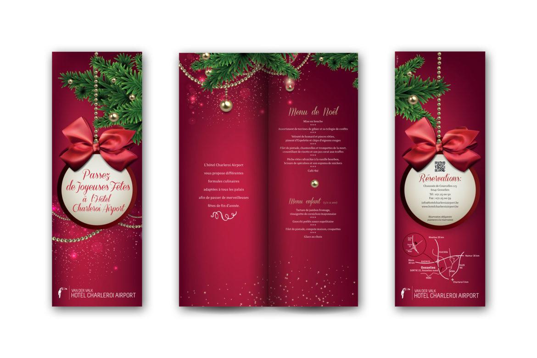 Brochure Hôtel Charleroi : fêtes de fin d'année