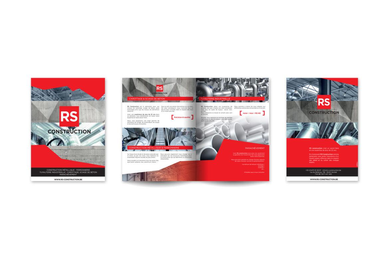 Plaquette de présentation RS Construction