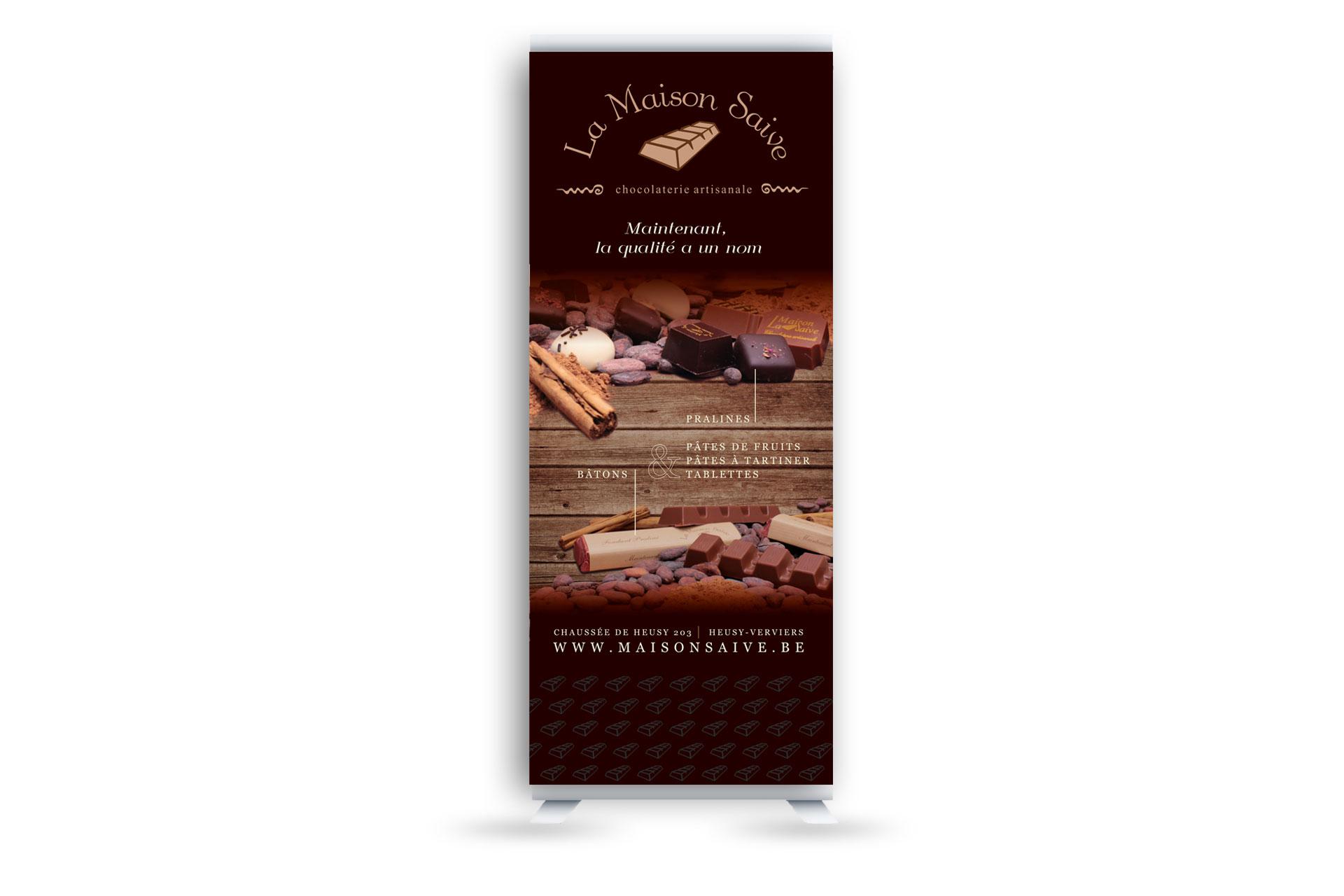 rollup saive chocolat