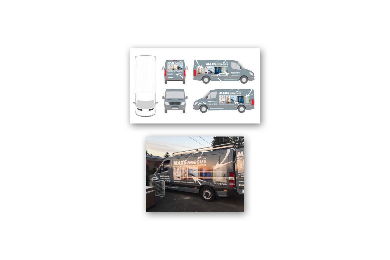 Camionette Maxs-Energie