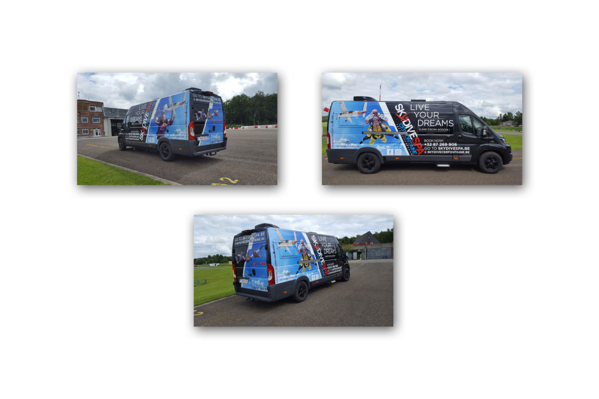 Camionette Skydive Spa