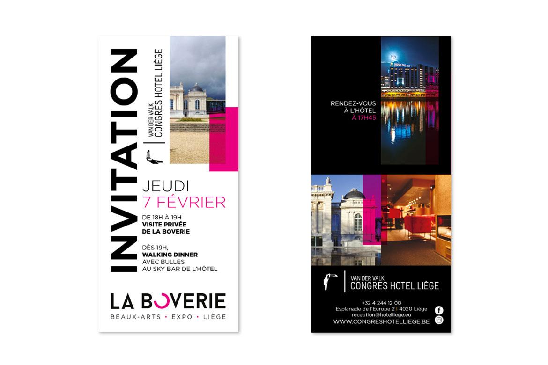 Invitation Congrès Hotel Liège