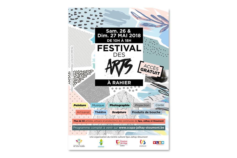 Affiche Festival des arts de Rahier