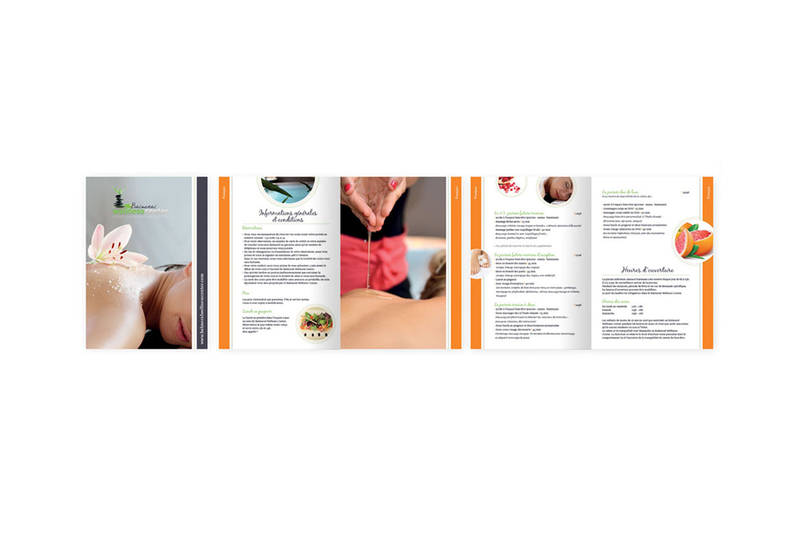 Brochure soins wellness Radisson Blu Balmoral Spa
