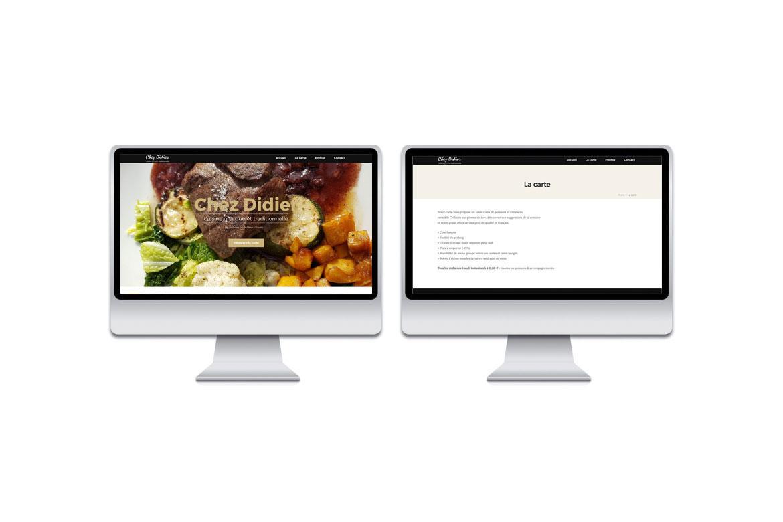 Site web Chez Didier