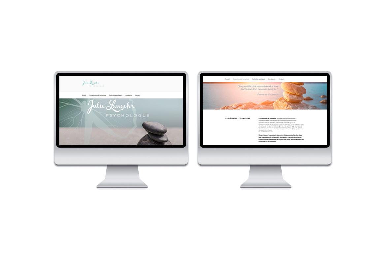 Site web Julie Langohr