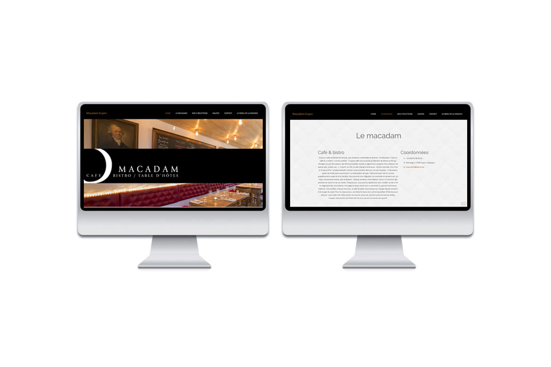 Site web Macadam