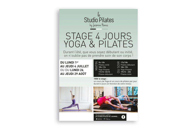 Affiche Studio Pilates